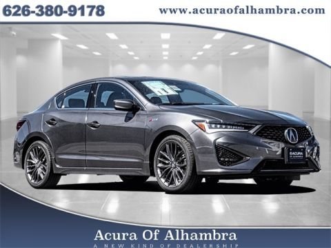 2020 Acura ILX with A-Spec and Premium Packages