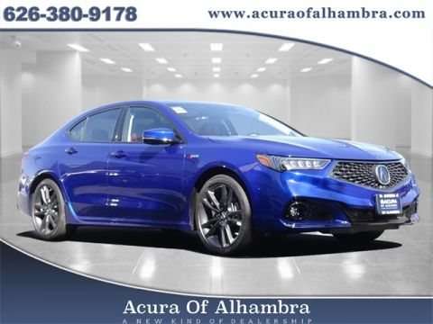 2020 Acura TLX V-6 SH-AWD with A-Spec Package and Red Interior
